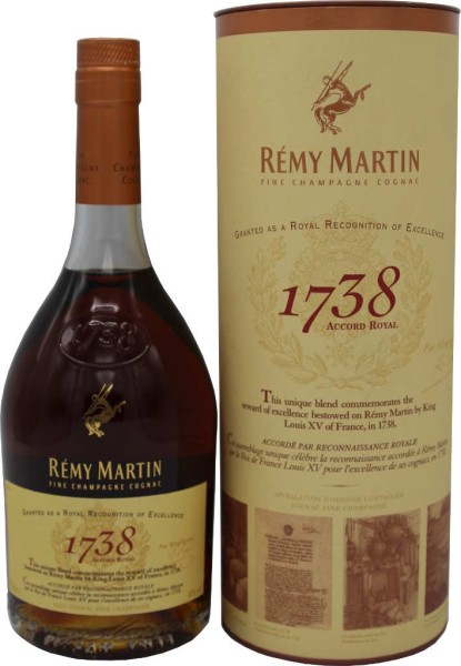 Remy Martin 1738 Accord Royal 0,7l