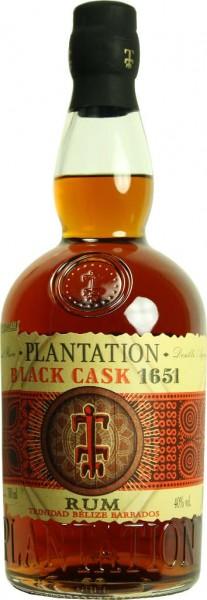 Plantation Black Cask Rum 0,7 Liter