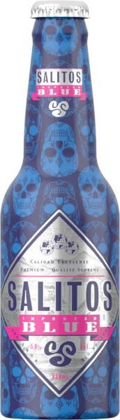 Salitos Blue Cocktail Alubottle 0,33 l