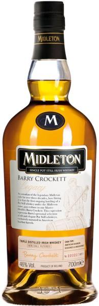 Midleton Whiskey Barry Crockett Legacy 0,7l