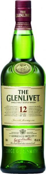 Glenlivet 12 yrs Geschenkset mit 2 Gläsern