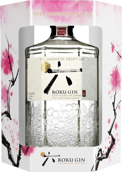Roku Gin 0,7l in der Geschenkpackung