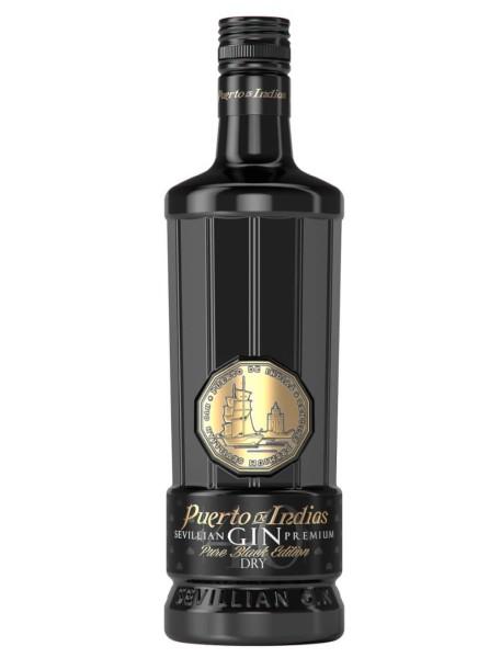 Puerto de Indias Gin Pure Black 0,7 Liter