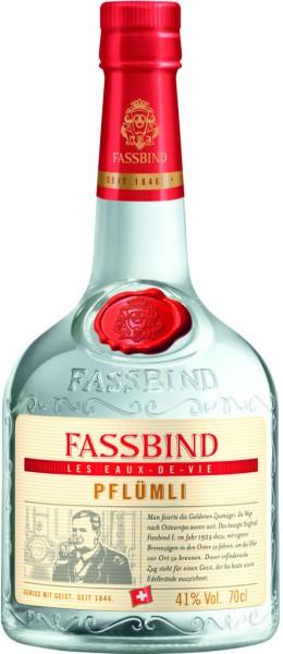 Fassbind Fine Eaux de Vie Pflümli 0,7 Liter