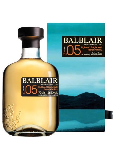Balblair Whisky Vintage 2005 0,7l