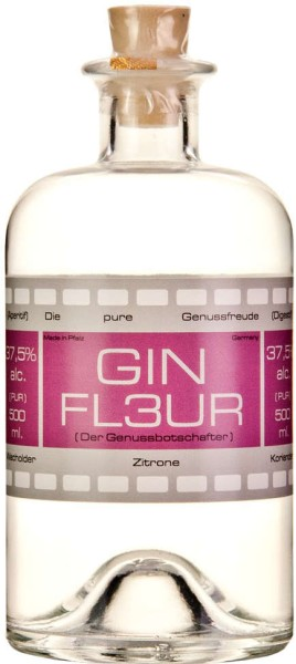 Gesandter Gin Fleur 37,5% 0,5l