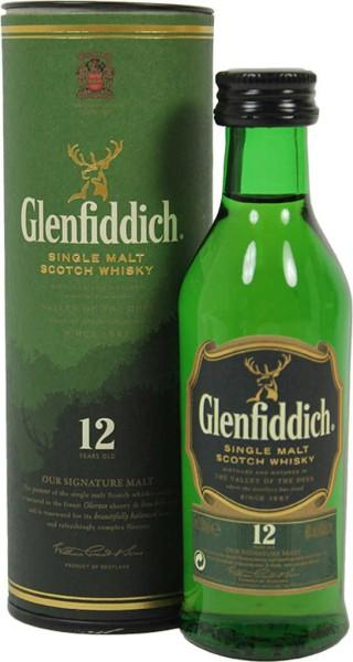 Glenfiddich 12 Jahre Mini