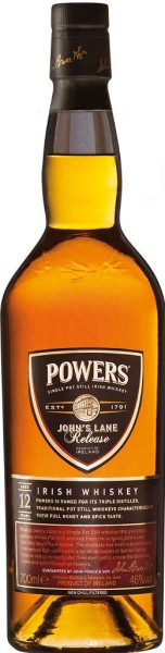 Powers Whiskey Johns Lane Release 12 Jahre 0,7l