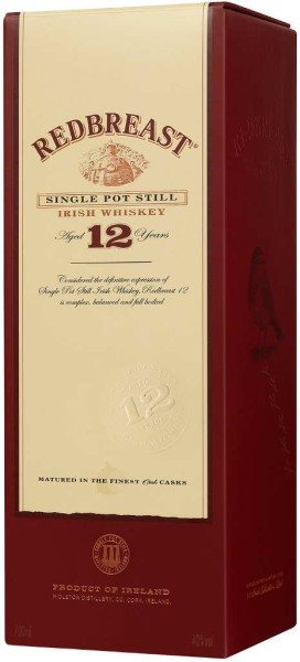 Redbreast Whiskey 12 Jahre 0,7l