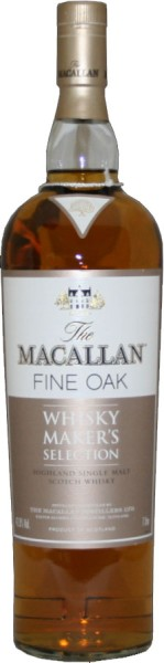 The Macallan Fine Oak Whisky Makers Selection 1 Liter