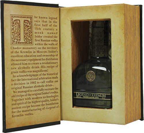 Legend of Kremlin Vodka Mini in Bibel