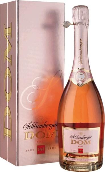 Schlumberger DOM T-FX-T Rose Brut 0,75l in Geschenkpackung