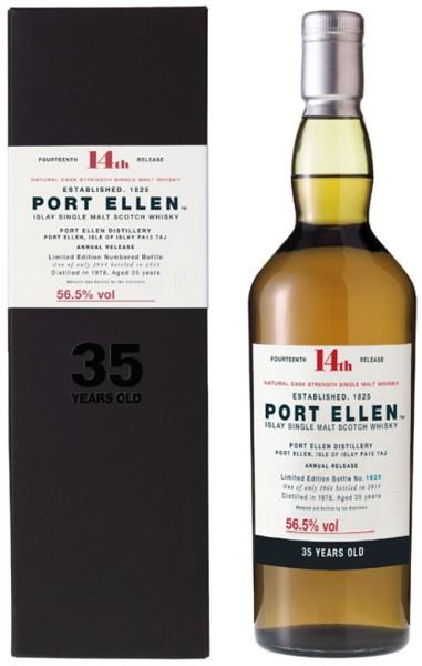 Port Ellen Whisky 35 Jahre 14th Special Release 2014 0,7l