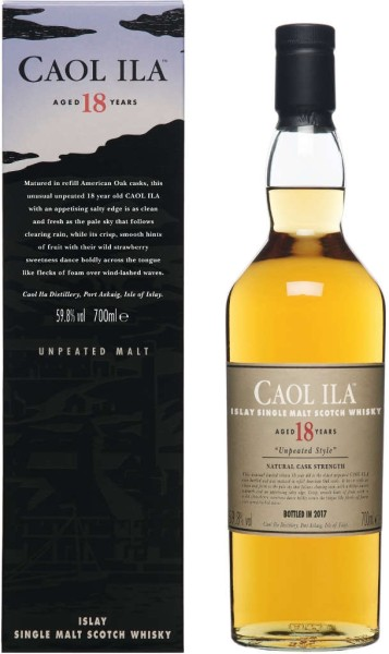 Caol Ila Whisky 18 Jahre Special Release 2017 0,7l