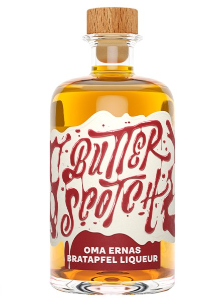 Butterscotch Oma Ernas Bratapfel Likör 0,5 Liter