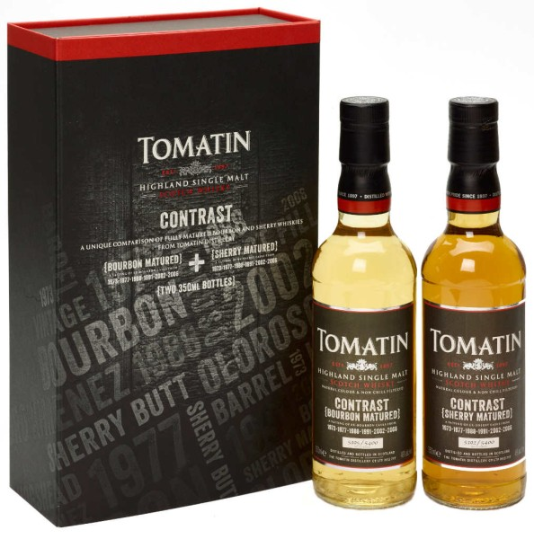 Tomatin Whisky Contrast Set 2 x 0,35l