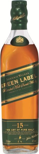 Johnnie Walker Green Label 15YO 0,2 Liter