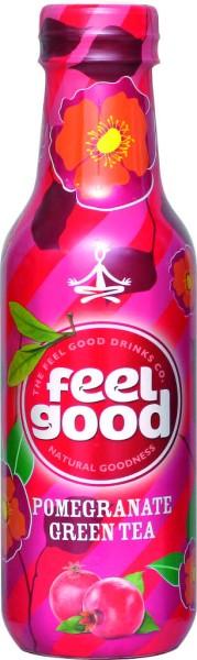 Feel Good Pomegranate Green Tea 0,5l PET
