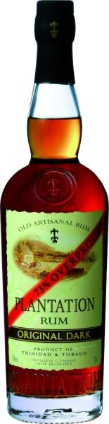 Plantation Trinidad & Tobago Original Dark Overproof Rum 0,7 Liter
