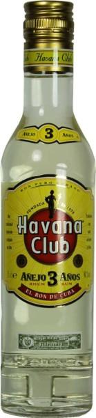 Havana Club Anejo 3 Jahre 0,35l
