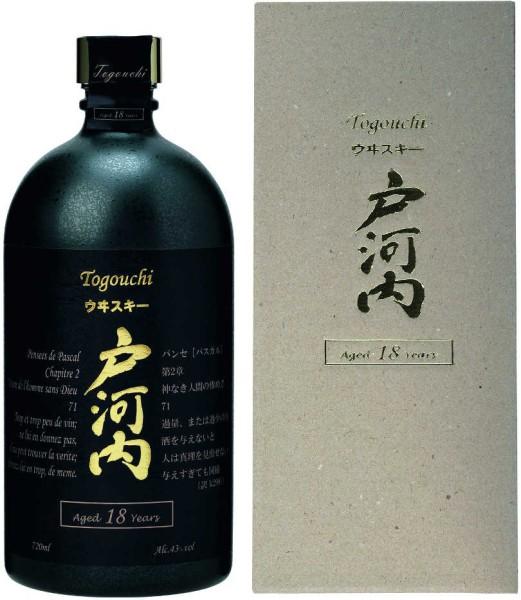 Togouchi 18 Years Old Japanischer Whisky