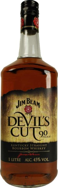 Jim Beam Devils Cut 1 Liter