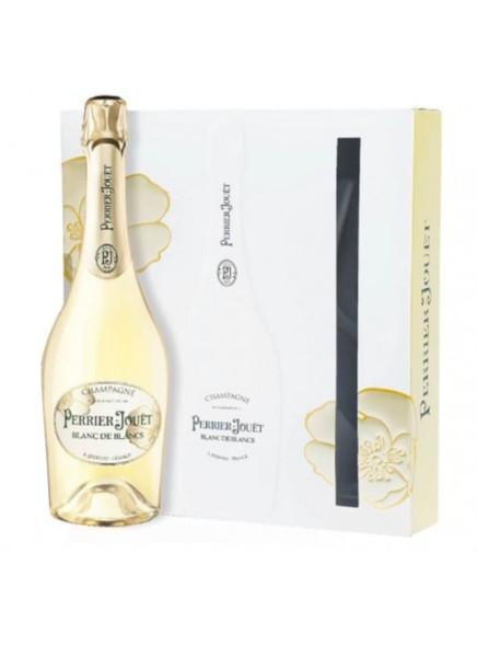 Perrier Jouet Champagner Blanc de Blancs 0,75 Liter mit 2 Gläsern