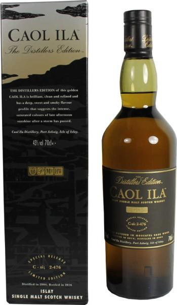 Caol Ila Whisky Distillers Edition 2004/2016 0,7l