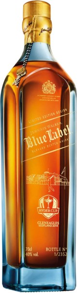Johnnie Walker Blue Label Ryder Cup Limited Edition