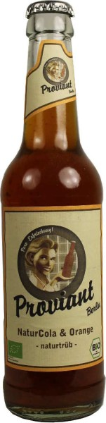 Proviant Cola und Orange 0,33l