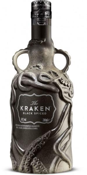Kraken Spiced Black Keramik Bottle 0,7l
