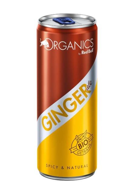 Red Bull Organics Ginger Ale Dose 0,25 Liter