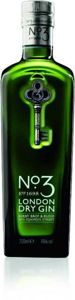 No. 3 London Dry Gin 0,7l