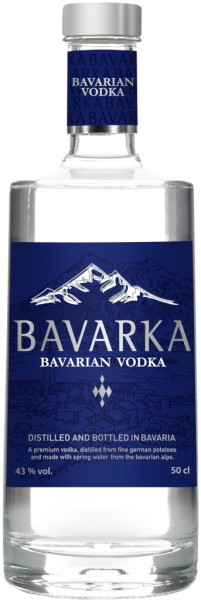 BAVARKA Bavarian Vodka 0.7 l