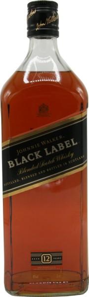 Johnnie Walker Whisky Black Label 12 Jahre 3l