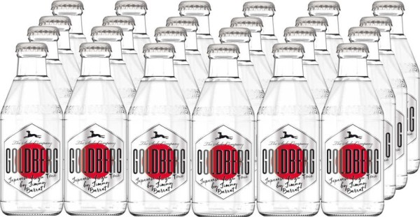 Goldberg Japanese Yuzu Tonic Water 24er