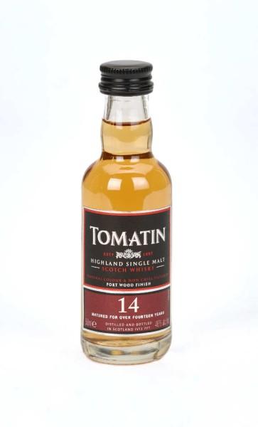 Tomatin Whisky 14 Jahre Mini 5cl