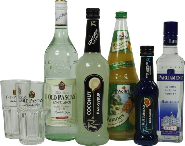 Swimmingpool Cocktail Set