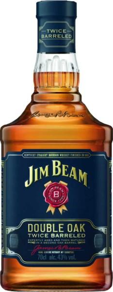 Jim Beam Whiskey Double Oak 0,7l