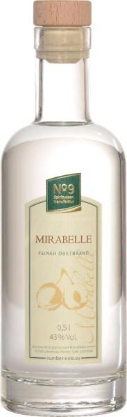 Number Nine Obstbrand Marille 0,5l