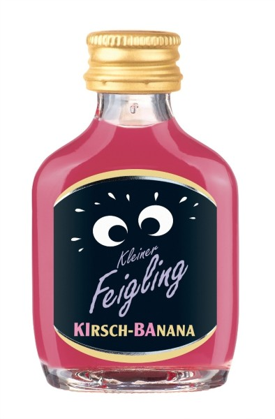 Kleiner Feigling Kirsch-Banana Mini 2cl