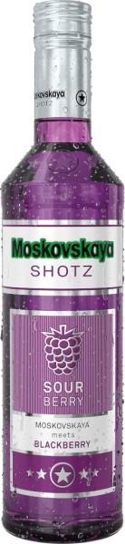 Moskovskaya Shotz - Sour Berry 0,5l
