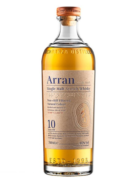 The Arran Whisky 10 Jahre 0,7l