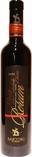 Rerum Recioto Della Valpolicella Classico DOC Casa Vinicola Sartori Rotwein 0,5l