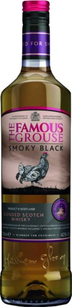 The Famous Grouse Whisky Smoky Black 0,7l