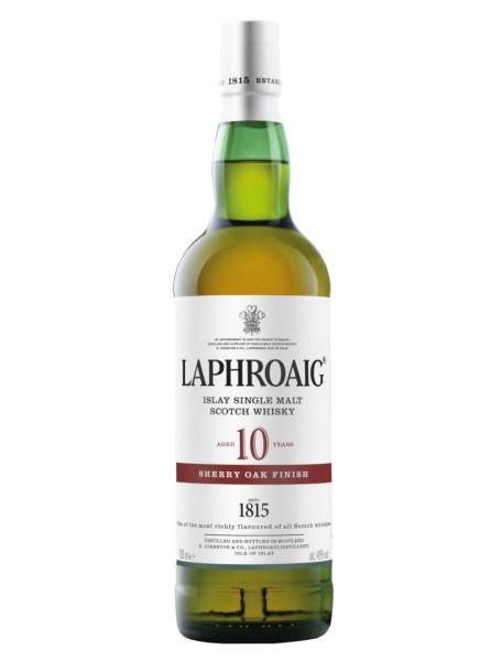 Laphroaig Whisky 10 Jahre Sherry Oak 0,7 Liter