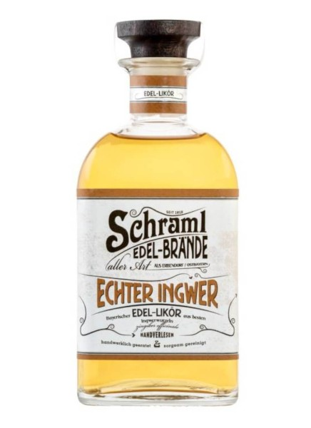 Schraml Echter Ingwer Likör 0,5 Liter