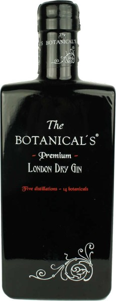 The Botanicals London Dry Gin 0,35l