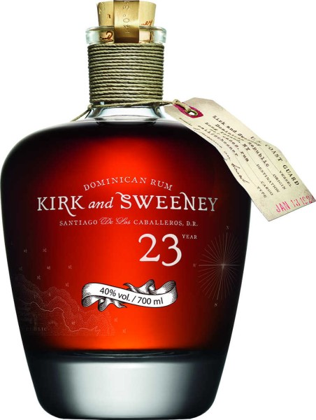 Kirk and Sweeney Rum 23 Jahre 0,7l