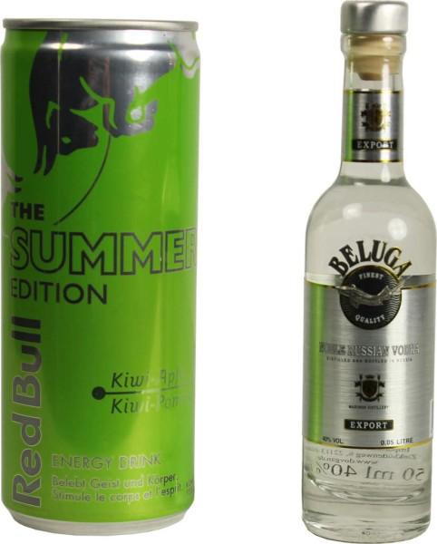 Beluga Vodka Noble Mini & Red Bull Summer Set